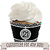 Custom Birthday - Birthday Party Cupcake Wrappers