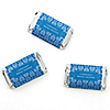Damask Blue - Personalized Bridal Shower Mini Candy Bar Wrapper Favors - 20 ct