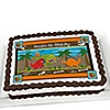 Dinosaur Birthday - Personalized Birthday Party Cake Toppers