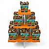 Dinosaur Birthday - Birthday Party Candy Stand and 13 Candy Boxes