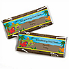 Dinosaur Birthday - Personalized Birthday Party Candy Bar Wrapper Favors