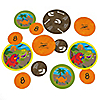 Dinosaur Birthday - Personalized Birthday Party Table Confetti - 27 ct