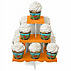 Dinosaur Birthday - Birthday Party Cupcake Stand and 13 Cupcake Wrappers