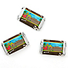 Dinosaur Birthday - Personalized Birthday Party Mini Candy Bar Wrapper Favors - 20 ct