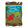 Dinosaur Birthday - Personalized Birthday Party Thank You Cards