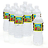 Dinosaur Birthday - Personalized Birthday Party Water Bottle Label Favors