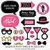 Divorce Party - 20 Piece Divorce Party Photo Booth Props Kit
