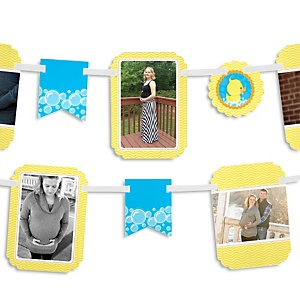 Ducky Duck - Baby Shower Photo Garland Banners