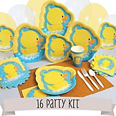 Ducky Duck - 16 Person Baby Shower Kit