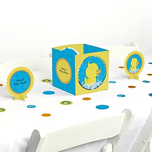 Ducky Duck - Baby Shower Centerpiece & Table Decoration Kit