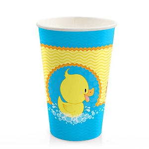 Ducky Duck - Baby Shower Hot/Cold Cups - 8 ct