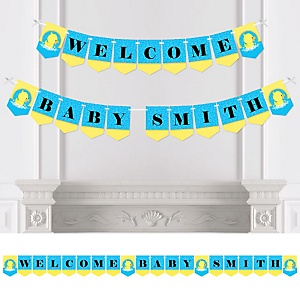 Ducky Duck - Personalized Party Bunting Banner & Decorations