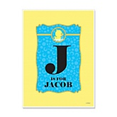 Ducky Duck - Personalized Baby Shower Poster Gifts