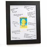 Ducky Duck - Personalized Baby Shower Print with Signature Mat