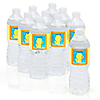 Ducky Duck - Personalized Baby Shower Water Bottle Label Favors