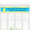 Ducky Duck - Personalized Birthday Party Banners