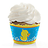 Ducky Duck - Birthday Party Cupcake Wrappers & Decorations