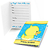 Ducky Duck - Birthday Party Fill In Invitations - 8 ct
