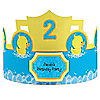 Ducky Duck - Personalized Birthday Party Hats - 8 ct