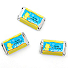 Ducky Duck - Personalized Birthday Party Mini Candy Bar Wrapper Favors - 20 ct