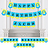 Ducky Duck - Personalized Birthday Party Bunting Banner