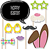 Hippity Hoppity - 20 Piece Easter Photo Booth Props Kit
