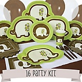 Elephant - 16 Person Baby Shower Kit