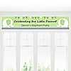 Baby Elephant - Personalized Baby Shower Banners