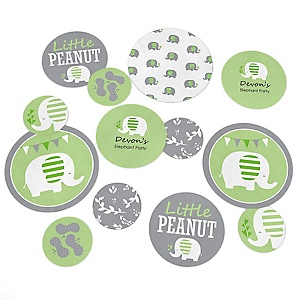Baby Elephant - Personalized Baby Shower Table Confetti - 27 ct