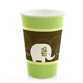 Baby Elephant - Baby Shower Hot/Cold Cups - 8 Pack