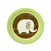 Baby Elephant - Baby Shower Dessert Plates - 8 Pack