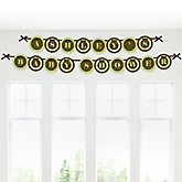 Baby Elephant - Personalized Baby Shower Garland Letter Banners