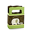 Baby Elephant - Personalized Baby Shower Mini Favor Boxes