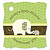 Baby Elephant - Personalized Baby Shower Tags - 20 ct