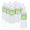 Baby Elephant - Personalized Baby Shower Water Bottle Label Favors