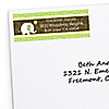 Elephant - Personalized Birthday Party Return Address Labels - 30 ct