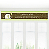 Elephant - Personalized Birthday Party Banners