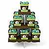 Elephant - Birthday Party Candy Stand and 13 Candy Boxes