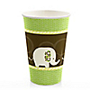 Elephant  - Birthday Party Hot/Cold Cups - 8 ct