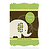 Elephant - Personalized Birthday Party Thank You Cards