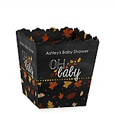 Oh Baby - Fall - Personalized Baby Shower Candy Boxes