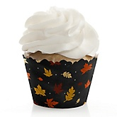 Oh Baby - Fall - Baby Shower Cupcake Wrappers