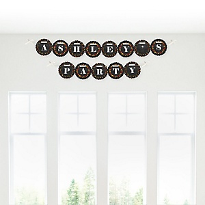 Oh Baby - Fall - Personalized Baby Shower Garland Letter Banners