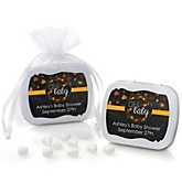 Oh Baby - Fall - Personalized Baby Shower Mint Tin Favors