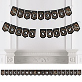 Oh Baby - Fall - Personalized Baby Shower Bunting Banner