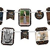 Oh Baby - Fall - Baby Shower Photo Garland Banners