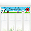 Farm Animals - Personalized Baby Shower Banners