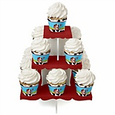 Farm Animals - Baby Shower Cupcake Stand & 13 Cupcake Wrappers