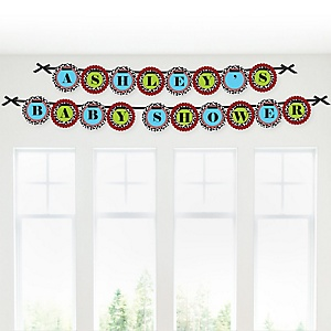 Farm Animals - Personalized Baby Shower Garland Letter Banners