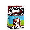 Farm Animals - Personalized Baby Shower Mini Favor Boxes